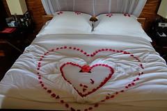 Bed decoration (survivingmaldives) Tags: jumeirah vittaveli maldives surviving