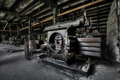 Machinery (Strange Artifact) Tags: sony a7r fe 1635 f4 za oss t carl zeiss variotessar urbex urban exploration ue abandoned decay belgium cristallerie