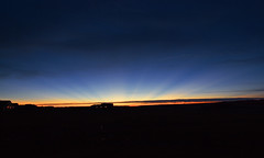 Crepuscular Rays (sunrise) (northern_nights) Tags: crepuscularrays sunrise nikon nikond7100 tokina1116mmf28 cheyenne wyoming 100v10f