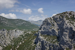 View from Velebit 2 (Dino Barsic) Tags: velebit view landscape paklenica national park croatia europe balkan mountains clouds nature sky skyline peaks day outdoor outdoors hill ridge canon600d
