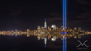 Tribute In Light Reflections