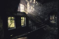 Stairwell (-SebsTian-) Tags: light shadow urbex sony a58 sigma 1020