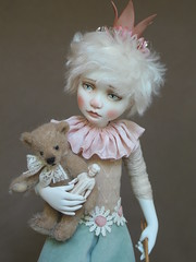 Tam-I-am (Tami E) Tags: artdoll art doll paperclay teddy bear