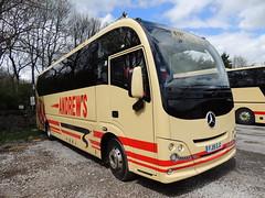 DSCN1125 Andrew's, Tideswell FJ15 EJC (Skillsbus) Tags: england buses mercedes andrews derbyshire peakdistrict tideswell cheetah coaches atego plaxton fj15ejc