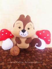 Esquilo Amigo do bosque (AnnCrafts Artesanato) Tags: animal squirrel pattern handmade feitomo felt pdf etsy feltro floresta esquilo tutorial handmadedoll moldes feltdoll apostila