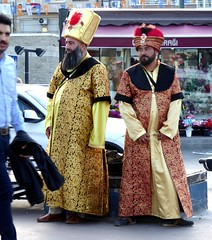 Two guys in Istanbul -2 (ashabot) Tags: turkey cities istanbul streetscenes worldcities