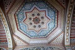 marrakesh cedar ceiling (1) (kexi) Tags: canon ancient muslim ceiling morocco ornaments cedar maroc bahia marrakesh february islamicart 2015 maroko bahiapalace muslimart instantfave