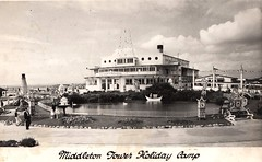 Middleton Tower Holiday Camp (trainsandstuff) Tags: vintage postcard retro morecambe pontins holidaycamp middletontower