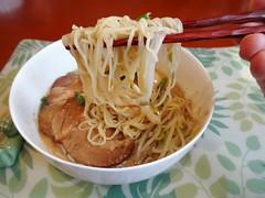Tonkotsu Ramen with Homemade Pork @Home (Phreddie) Tags: home yum pork eat ramen noodle broth shiro tonkotsu 150523
