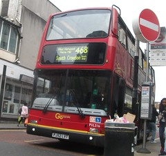 London Central PVL316 on route 468 Croydon 23/05/15. (Ledlon89) Tags: bus london transport londonbus tfl londoncentral goaheadlondon bsues