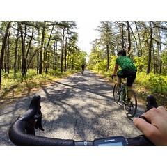 BTB park road, a true gem!  #weavercycleworks #custombicycles #steelisreal #gopro #njpines #ridethepines