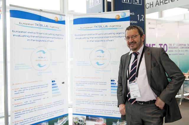 Philippe Mangeard presenting European TK'Blue Agency