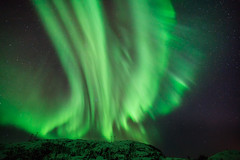 Aeolian Harp (kbaranowski) Tags: mountains nature norway wow island colorful arctic northernlights auroraborealis tromso troms beautyinnature northernnorway kvaloya sommaroy temperature arctic cold spirituality