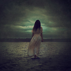 going alone (brookeshaden) Tags: painterly texture fairytale squareformat fineartphotography brookeshaden