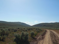 The Monument Road (jimmywayne) Tags: monument corner utah idaho marker wyoming tristate lincolncounty tripoint threestate