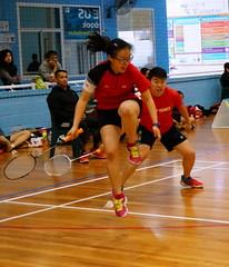 2016 LiveLighter WA Open State Championships (jason.hojs) Tags: sport birdie exercise australia perth fitness badminton shuttlecock