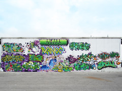 HOMEVESTIVAL 2015 (aeroescrew) Tags: coma bons ike313 teddykiller aeroes aeroescrew wall event graffiti homefestival homefestival2015