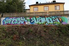 Fresh from Pispala (Thomas_Chrome) Tags: graffiti streetart street art spray can fame gallery hof wall walls pispala tampere suomi finland europe nordic