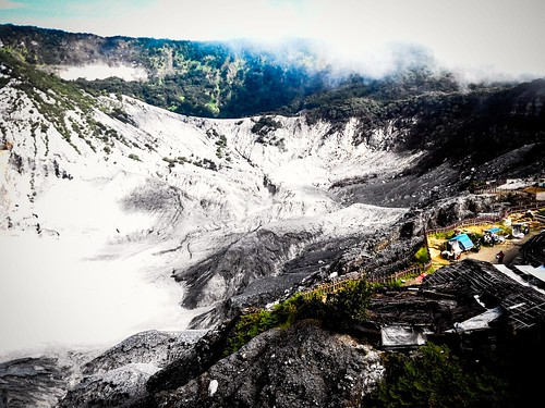 Tangkuban Perahu, Lembang, West Java. #mountain #crater #lembang #westjava #indonesia