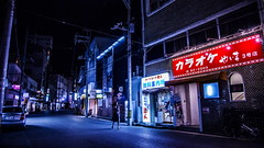 A Night at Ishigaki (Wilson Au | ) Tags: street light color japan night canon  signboard ishigaki  ef2485mmf3545usm eos5dmarkiii