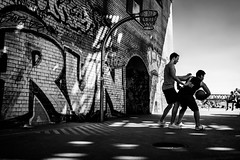 Run (tomabenz) Tags: berlin a7rm2 urban street photography basketball streetart bw streetview playground monochrome noiretblanc blackandwhite sonya7rm2 streetphotography