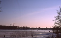 Reunalla (koepis) Tags: ice fishing oulu finland spring nikon fe2 provia