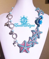 Starfish masterpiece done... #beadedstarfish #estrelladelmar #Beadweaving (ExoticDesigns) Tags: beadwork estrelladelmar beadweaving beadedstarfish