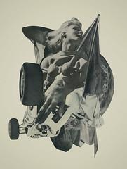 Lily (mightyjoecastro) Tags: woman art artist arte contemporaryart modernart analogcollage mightyjoecastromixedmediacollagecutpasterayjohnson