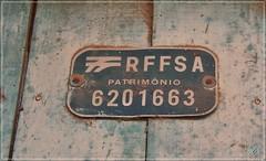 Placa da RFFSA no antigo depsito do bairro Km2 em Santa Maria - RS (Antunne's) Tags: all reliquia trem placa raro estao logistica raridade rffsa santamariars