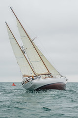 Talisker Mhor rounding mark (Matchman Devon) Tags: royal dart yacht club classic regatta 2016 talisker mhor mcgruers