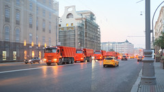 DSCF2052 (Mike Pechyonkin) Tags: road street car truck moscow  2016