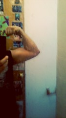 After Workout FLEX! (Jonathan C. Aguirre) Tags: muscles arms biceps flexing guns