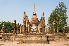 Bouddha, cloche ?!? (Ye-Zu) Tags: stupa thalande bouddha ruine sukhothai thailande pagode worldtour tambonmueangkao changwatsukhothai
