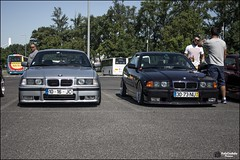 Two side's of the card (rafa_godinhoPictures) Tags: black portugal grey euro m pack darth bmw vader m3 325 meet 320 stance bimmer e36