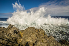 Wall of Water (tatlmt) Tags: southpacific tonga kingdomoftonga nukulofa tongatopu blowhole