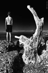nessuna paura (Sergio Bus) Tags: paura bn bw samsung nx1000 samsungnx1000 sergiobus mare sea monocromo monocrome scare biancoenero surreale surreal