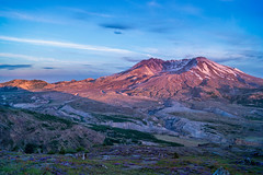 On My Mind (writing with light 2422 [NOT PRO]) Tags: onmymind richborder mountsainthelens sunset sonya77 stratovolcano volcano mountain