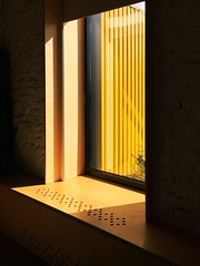 bright outlook (Nannile) Tags: sunshine color mobilephotography iphone colorblocks abstract minimalism tributetoedwardhopper bright yellow window shadow light