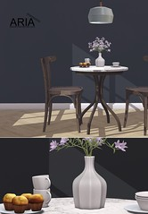 Oakley breakfast nook @ Uber (Aria/ Yelo Uriza) Tags: ubersl uber furniture fiori sedia dining chair