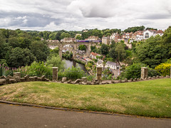 Knaresborough Viaduct (mister_wolf) Tags: castle knaresborough nidd northyorkshire river rivernidd view england unitedkingdom