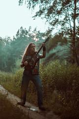 IMG_5164 (rodinaat) Tags: longhair longhairman longhairedman longhaired beard bearded metal metalhead powermetal trashmetal guitar musican guitarplayer brutal forest summer sun