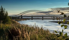 Runcorn Widnes Bridge (joanjbberry) Tags: bridge widnes runcornwidnesbridge runcorn cheshire mersey rivermersey water landscape