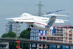Cityjet - British Aerospace Avro RJ85 - EI-RJZ  London City Airport (paulstevenchalmers) Tags: londoncity london lcy airport