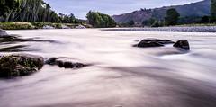New Zealand silk (quiltershaun) Tags: new zealand nz silk smooth long expsoure purple water landscape rocks camping travel nikon d3200 1855