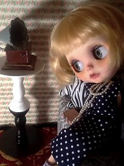 Toy-in-the-Frame Thursday; and Blythe-a-Day August#2: Twilight: Maisie