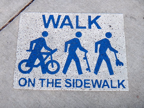 Walk on the Sidewalk