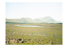 (harald wawrzyniak) Tags: analog analogue film scan ireland èire landscape harald wawrzyniak mamiya 645af thanksamillion travel fence mountains