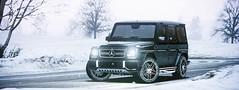 G65 AMG (araik_kratos) Tags: game reflections car gta5 mercedes amg g65 snow
