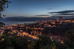 Rijeka Twilight (Niklas Neubauer) Tags: rijeka kroatien twilight nachtfotografie stadlandschaft cityscape nikon d810 2470mm28 sunset holiday