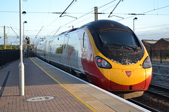 Virgin Trains Pendolino 390128 City of Preston (Will Swain) Tags: 14th august 2016 train trains rail railway railways transport travel uk britain vehicle vehicles country england english west coast main line north wcml mainline warrington bank quay station virgin pendolino 390128 city preston class 390